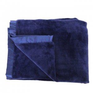 Superflausch-Wohndecke blau