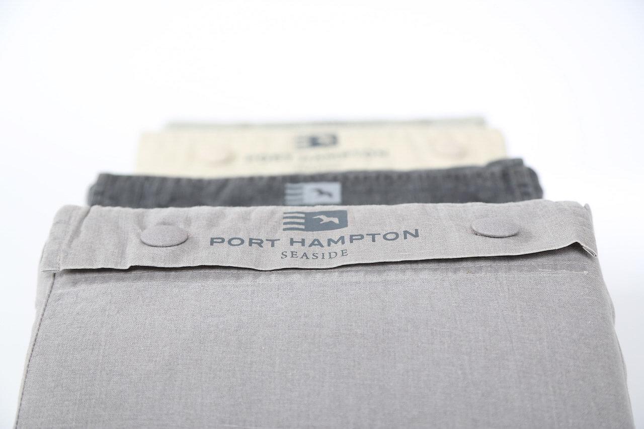kissenbezug vintage cotton mit kn pfen 2x 50x50 cm homesphere onlineshop f r heimtextilien. Black Bedroom Furniture Sets. Home Design Ideas