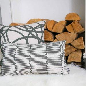 Kissen Grass Stripe 30x50 cm