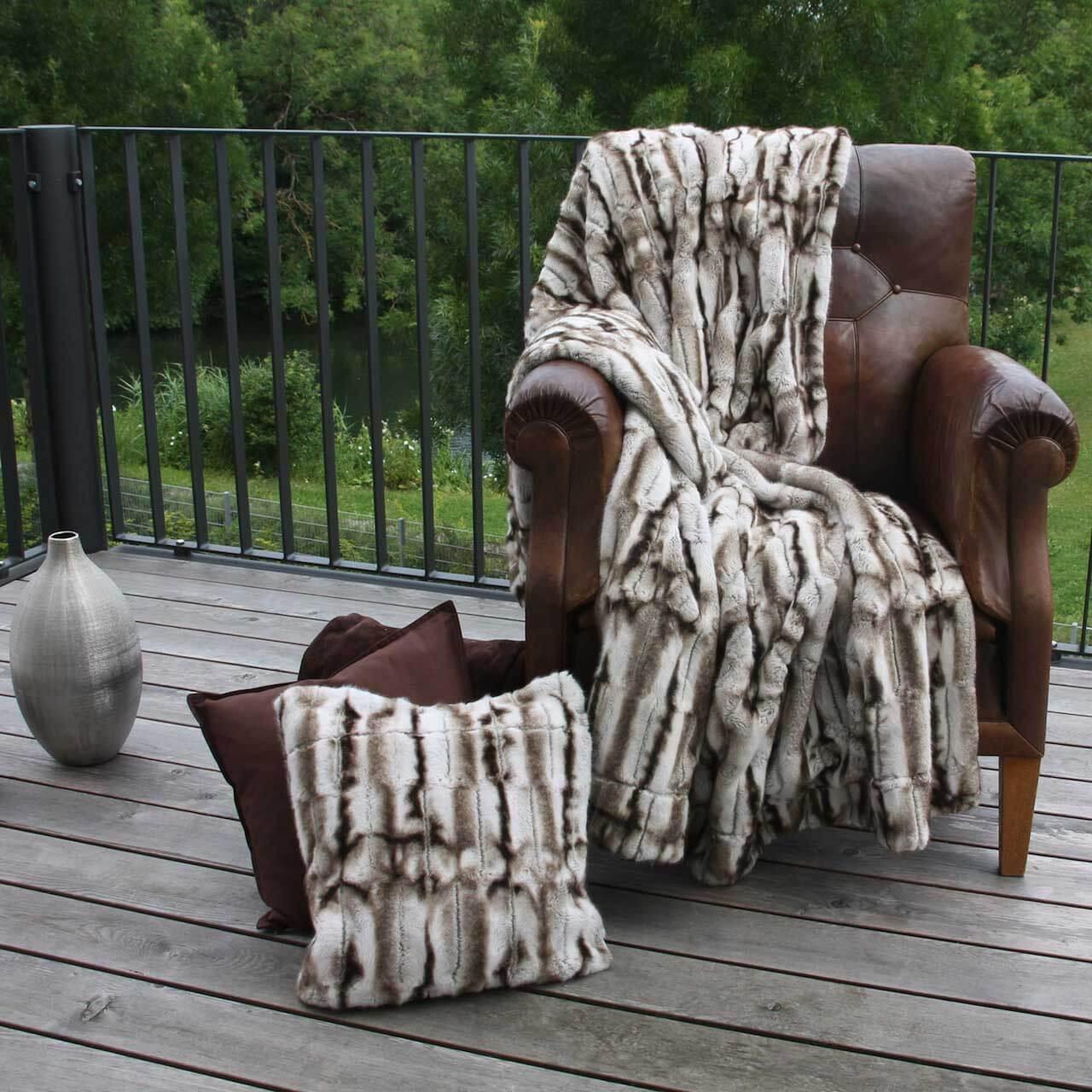 wendeplaid faux fur homesphere onlineshop f r heimtextilien und mehr. Black Bedroom Furniture Sets. Home Design Ideas