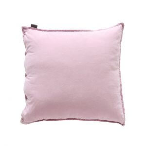 Kissenbezug Vintage Washed Cotton 50x50 cm rosa