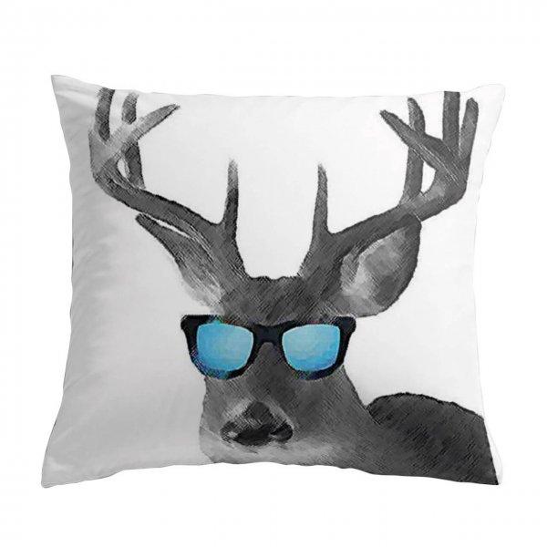 Dekokissen Hirsch Sonnenbrille