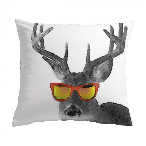 Kissen Hirsch Sonnenbrille