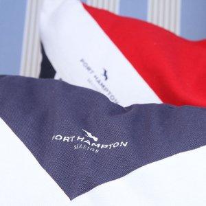 Kissenhülle Port Hampton Flag blau
