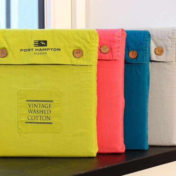Bettwäsche Vintage Washed Cotton Taschen