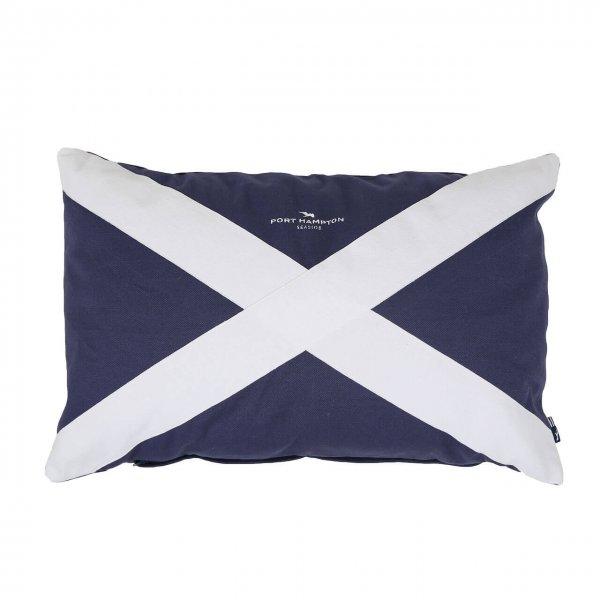 Kissenhülle Flag blau