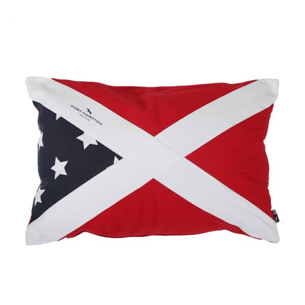 Kissenhülle Flag rot