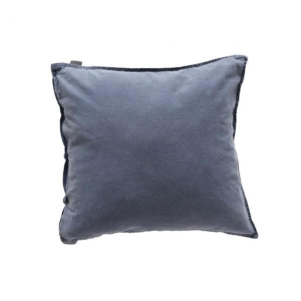 Kissenbezug Vintage Washed Cotton 50x50 cm blau