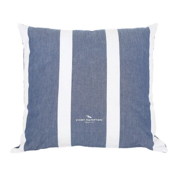 Kissenhülle Port Hampton Stripe blau