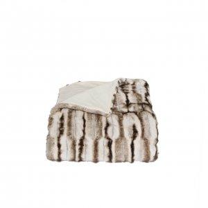 Wende-Wohndecke Faux Fur