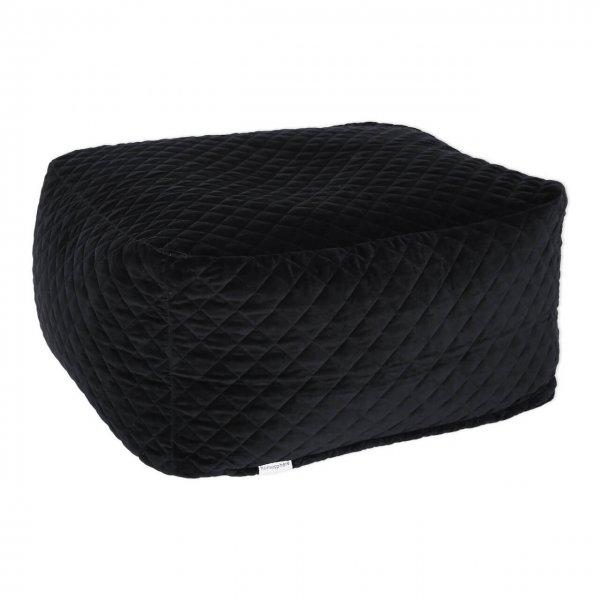 Sitzsack Samt schwarz