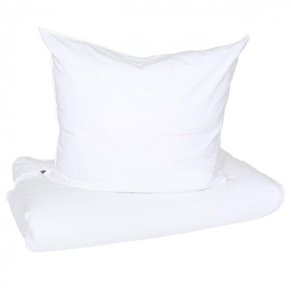 Bettwäsche Vintage Washed Cotton mit Knöpfen weiß