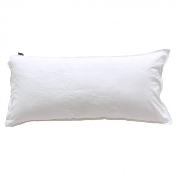 Kissenbezug Vintage Washed Cotton 40x80 cm weiß