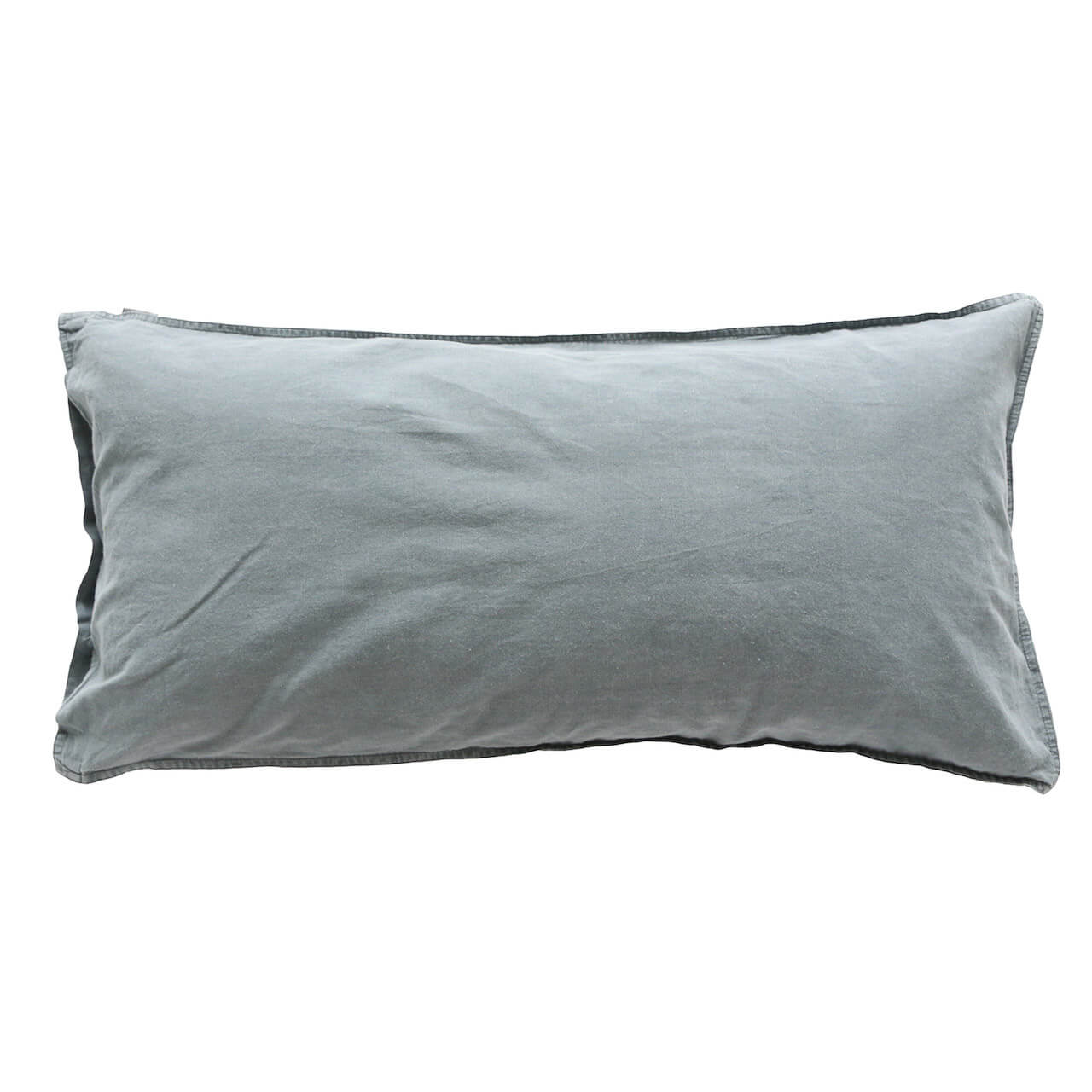 Kissenbezüge Vintage Washed Cotton mit Knöpfen 2x 50x50 cm