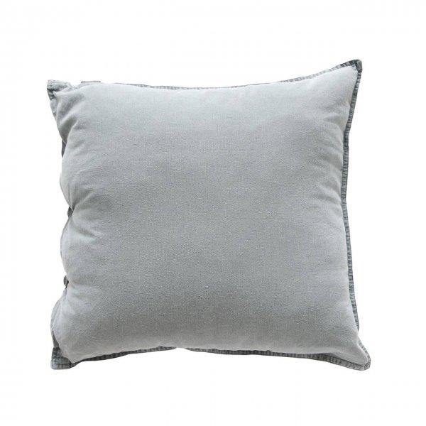 Kissenbezug Vintage Washed Cotton 50x50 cm aqua