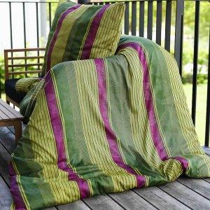 Bettwäsche Baumwolle gestreift