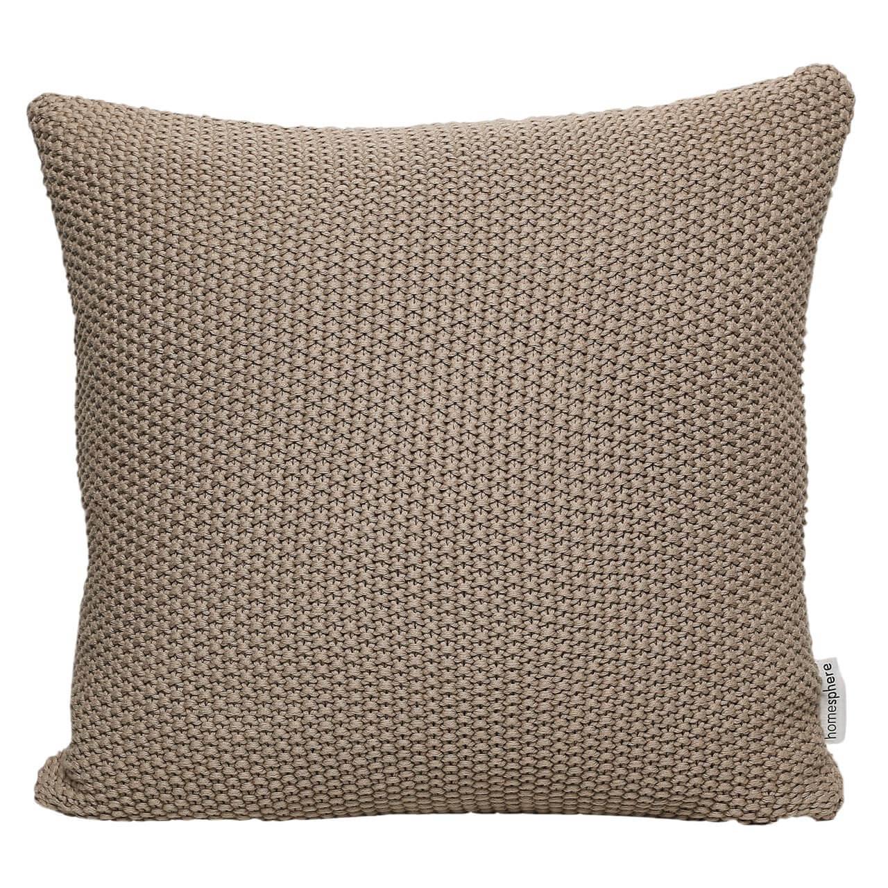 strick kissenh lle moss stitch homesphere onlineshop f r heimtextilien und mehr. Black Bedroom Furniture Sets. Home Design Ideas