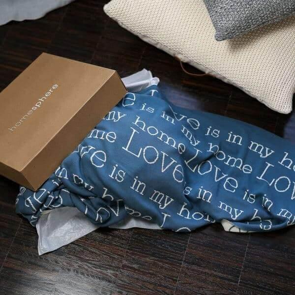 Strickdecke Geschenk