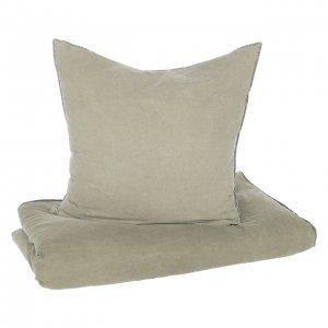 Bettwäsche Baumwolle braun