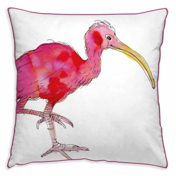 Kissenhülle Pink Ibis
